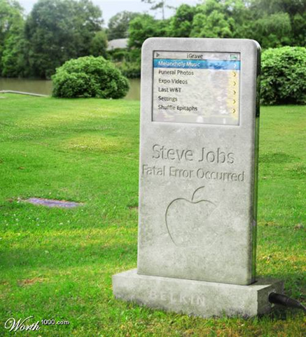 Job's Ipod-tombstone